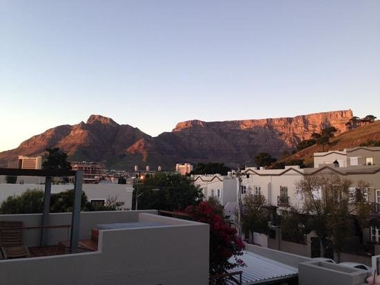 De Waterkant Cottages : the morning view off the top deck