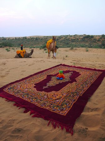 Reggie's Camel Camp: Camel Ride at Sunset