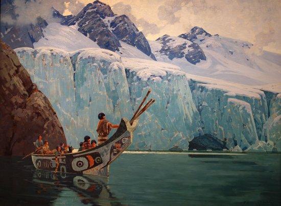 Smithsonian American Art Museum: Belmore Brown: The Chief's Canoe