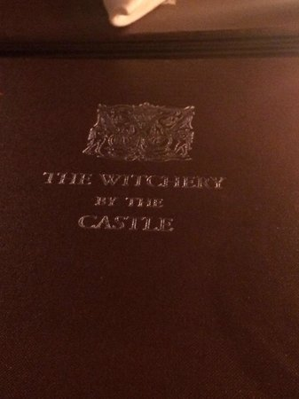 The Witchery by the Castle : Menu