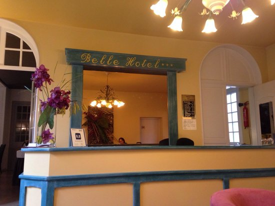 Inter Hotel Belle Front Desk With Limited English Spoken Depending On Who Is Working