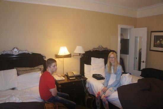 The Lucerne Hotel: Snart på vei ut ...