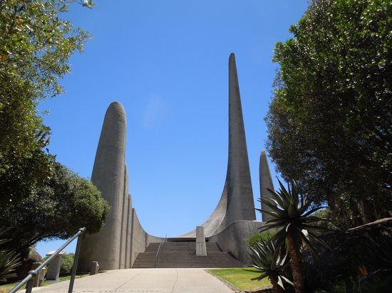 Afrikaans Language Monument: Approaching the monument on foot