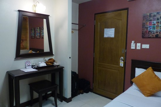 Fair sized rooms at Rikka Inn