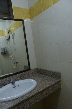 Rikka Inn : Our bathroom and shower