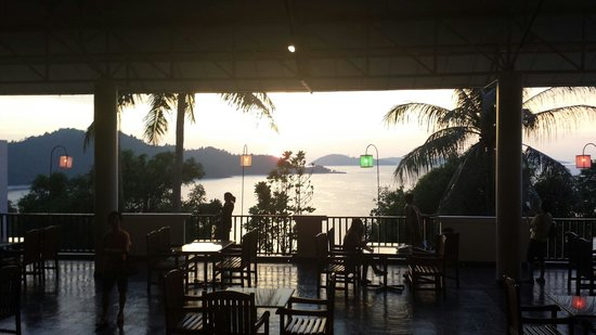 Grand Andaman: View of the restaurant terrace