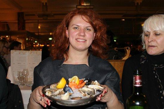 La Coupole : морепродукты на ледяной подушке