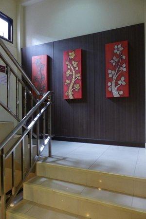 Stairway at Rikka Inn