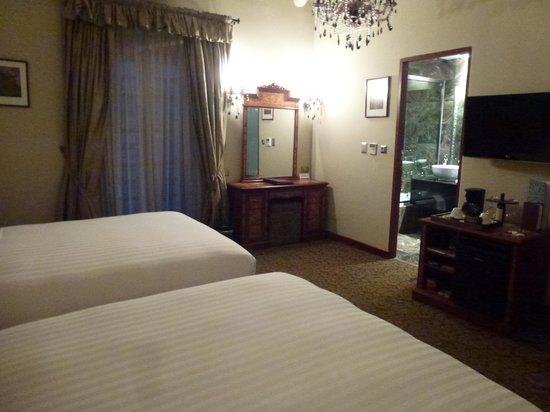 Aranwa Cusco Boutique Hotel: Lustres maravilhosos...