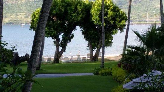 Kauai Marriott Resort: Partial view to the beach