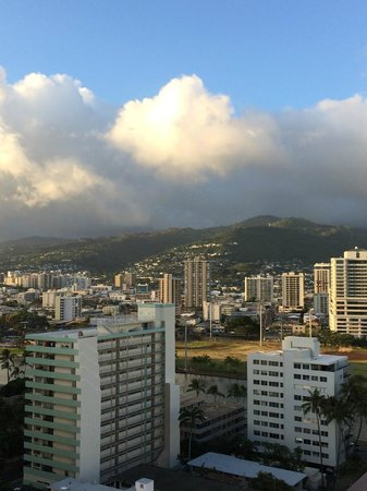 Ambassador Hotel Waikiki: view from wrap around balcony