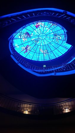 Amrath Grand Hotel Frans Hals: Rooflight over stairs
