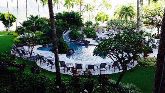 Kaua'i Marriott Resort : Kids slide pool