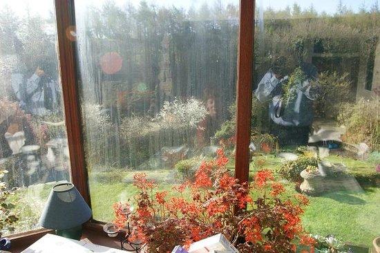Oak Cottage: Breakfast view