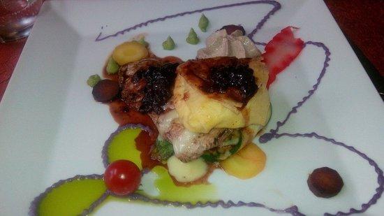 La Table d'Emilie: filet mignon croustillant de camembert