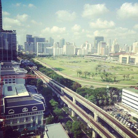 Grand Hyatt Erawan Bangkok: Royal Polo Club from the Grand lounge