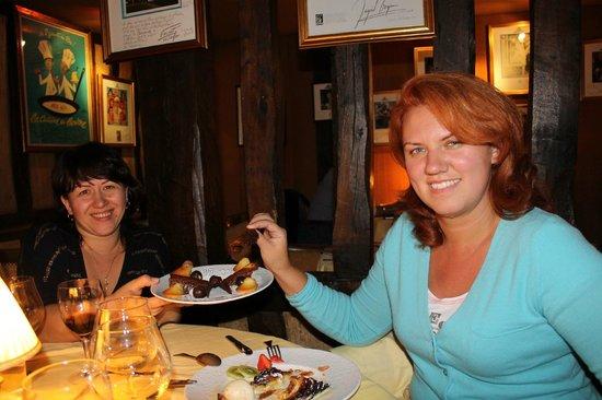 Restaurant La Couronne: десерт