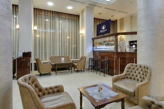 Hotel Ukraine: Lobby bar