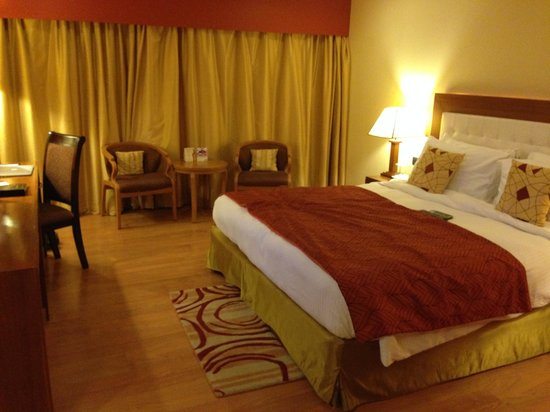 Fortune Park Vallabha: Room Delux