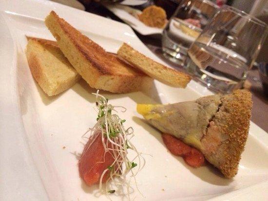 L'Imperial Palace : Foie gras aux langoustines