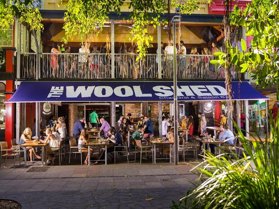 The Woolshed Cafe & Restaurant: Outside The Woolshed