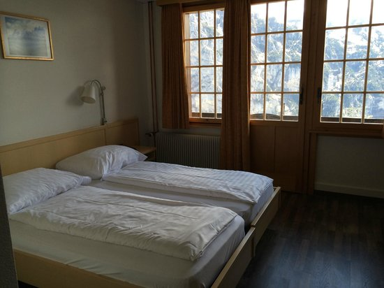 Hotel Alpenruh: Not luxurious as expected, and very clean