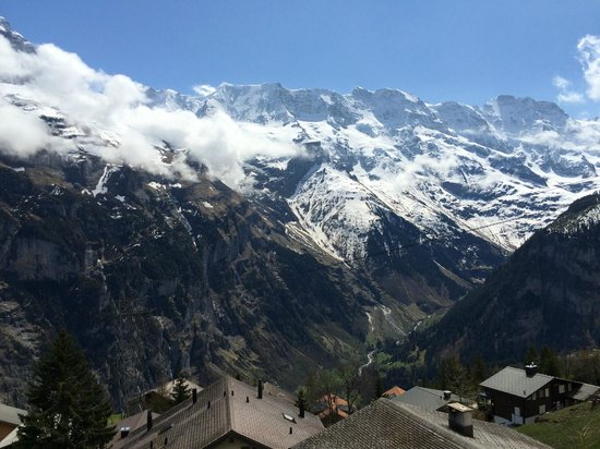 Chalet Hotel Alpenruh: Great view from room