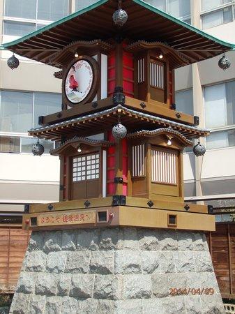 Dogo Onsengai: からくり時計