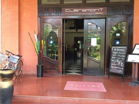 Claremont Angkor Boutique Hotel : ingresso hotel