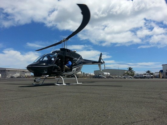 Genesis Helicopters: Ready to go, Doors Off!