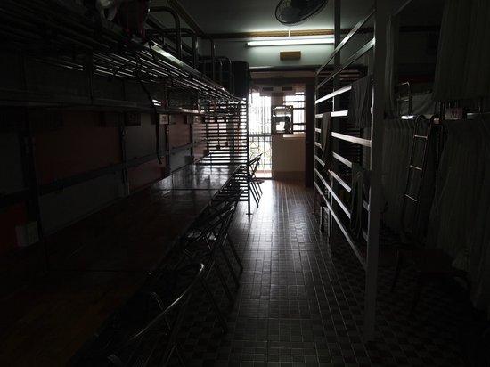 Chan Myae Guesthouse: 二段ベッドがいっぱい