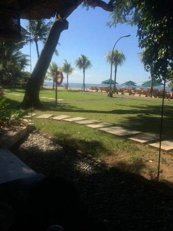 Prama Sanur Beach Bali: View from Breakfast