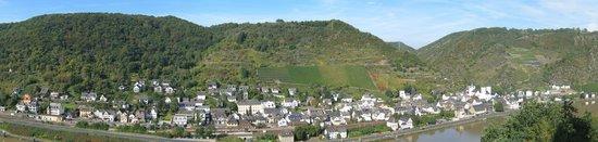 Treis-Karden, Alemania: Die Aussicht auf unsere schöne Moselregion