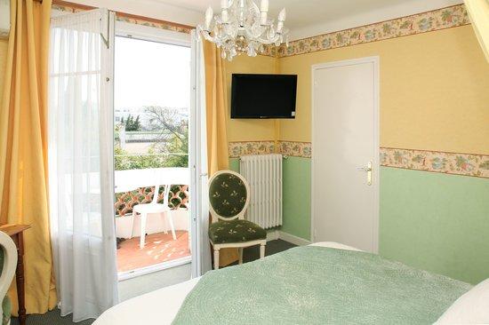 Hotel Le Pre Catelan : superior twin