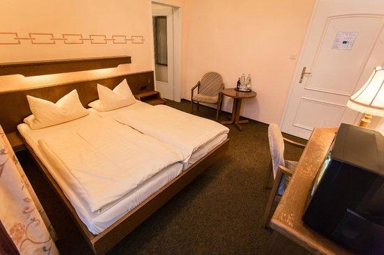 Schloss-Hotel Petry: Unser Doppelzimmer im Gästehaus