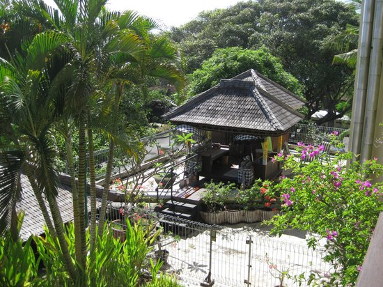 Kuta Paradiso Hotel: view from our balcony room 322