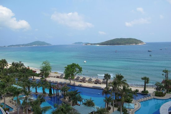 Holiday Inn Resort Sanya Yalong Bay: vista mozzafiato