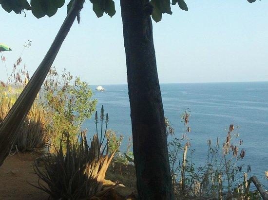 Cabanas Balamjuyuc: La preciosa vista del Balamjuyuc