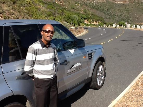 Atlanticview Cape Town Boutique Hotel: Monsur - a wonderful gentleman and driver