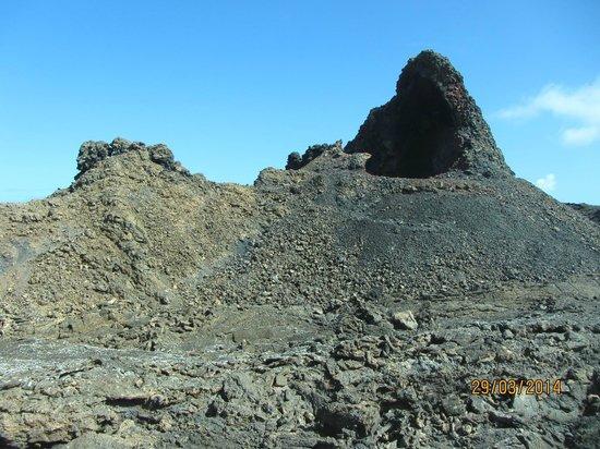 Parque Nacional de Timanfaya: Один из кратеров