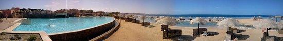 Radisson Blu Resort, El Quseir: Spiaggia Lato Pontile