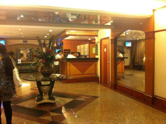 Hotel 81 - Star: hotel lobby April 2013 travel