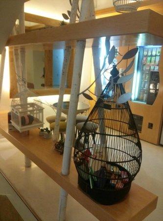 Tainan SSS Life Hotel : lounge