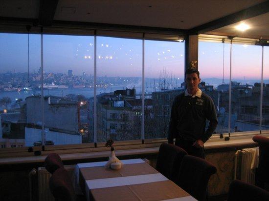 Hotel Ipek Palas: vista desde el comedor