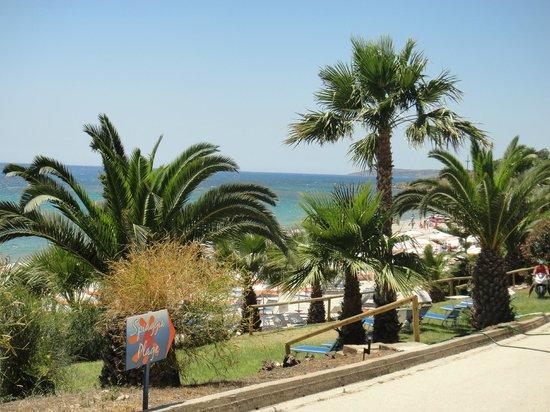 Club Marmara Cala Regina : acces plage
