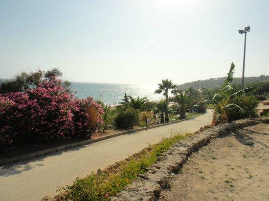 Club Marmara Cala Regina : en descendant vers la plage