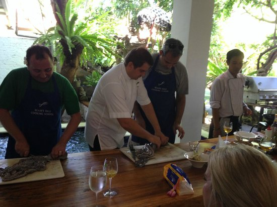 Chef Dean Cooking Class: Learning how to prepare octopus