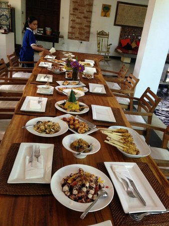 Chef Dean Cooking Class : The feast at the end of the class