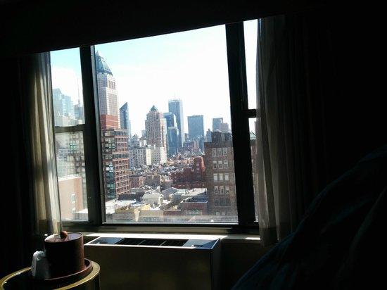 The Watson Hotel : dalla nostra stanza al 16 piano della torre nord