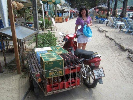 Kamala Beach : Livraison de boissons